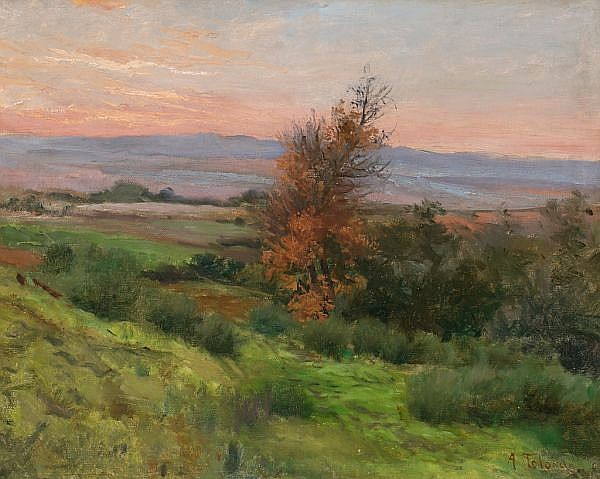 Aureli Tolosa Barcelona 1861 - 1938 Landscape