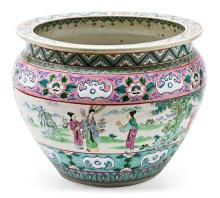Chinese porcelain jardinière, first half of the 20th Century