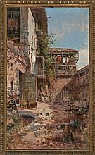 Andrés Larraga Valtierra 1862 - Barcelona 1931 Rural views