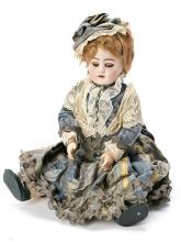 German doll in DEP porcelain, early 20th Century