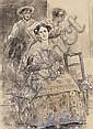 Arcadi Mas i Fondevila Barcelona 1852 - Sitges 1934 Ilustración para