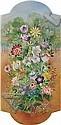Olga N. Sacharoff Tbilisi 1889 - Barcelona 1967 Flores Óleo sobre lienzo, Olga Sacharoff, Click for value