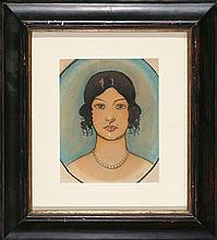 Ramón Pichot Gironés Barcelona 1872 - 1925 Young Lady