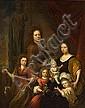 Attributed to Michiel van Musscher Dutch, 1645 – 1705 Family portrait 122x96 cm, Michiel van Musscher, Click for value