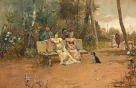 Ramón Muñoz Rubio Jaén 1867 - Madrid 1910