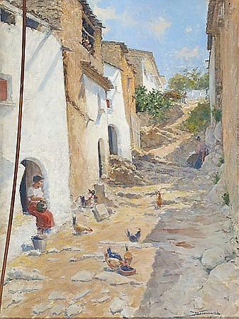 Arcadi Mas i Fontdevila Barcelona 1852-Sitges 1934