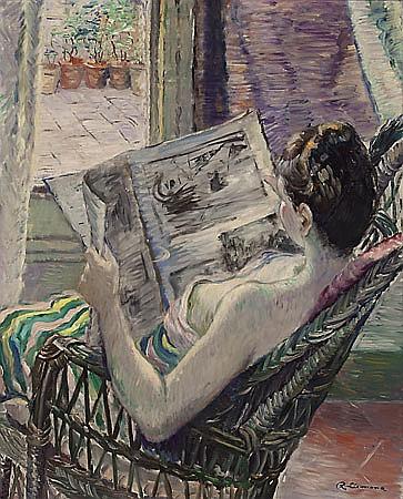 """Rafael Llimona Benet Barcelona 1896-1957 """"Figura leyendo"""""""
