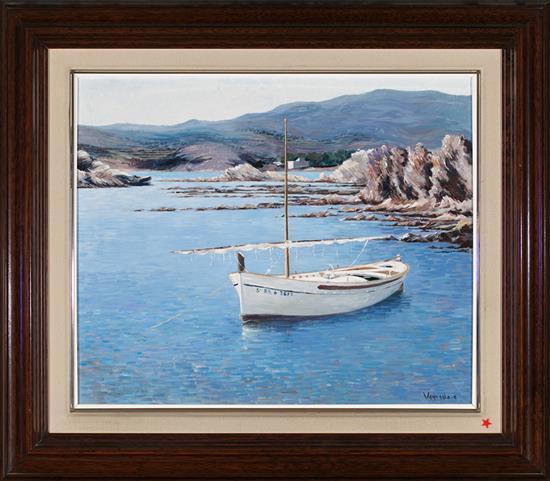 Josep Maria Vayreda Canadell Olot 1932 - Girona 2001 Seascape