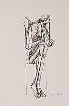 Oswaldo Guayasamín Quito 1919 - 1999 Pensive figure