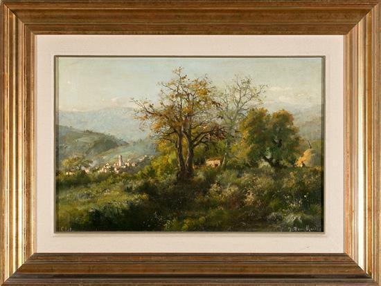 Jaume Pons Martí Barcelona 1885 - Girona 1931 Olot Landscape