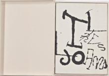 Joan Brossa (Barcelona 1923 - 2012) y Joan Miró (Barcelona 1893 - Palma de Mallorca 1983)