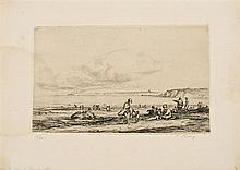 Pau Roig Cisa Premià de Mar 1879 - Barcelona 1955 Landscapes and Genre Scenes from Normandy and Maresme