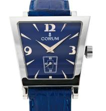 Corum, Trapeze, steel gentleman's wristwatch