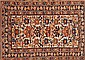 Four oriental woollen rugs, 19th Century