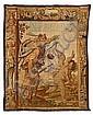 La Justicia persiguiendo al Amor, tapiz de Bruselas en lana, hacia 1630 , Justus van Egmont, Click for value