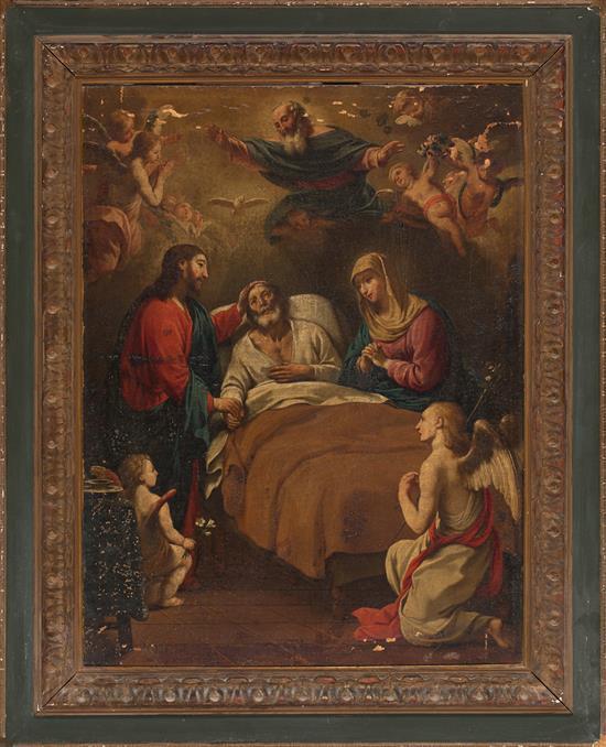 Antoni Viladomat i Manalt Barcelona 1678 - 1755 The death of Saint Joseph