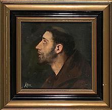 Lluís Masriera Rosés Barcelona 1872 - 1958 Saint Francis of Assisi