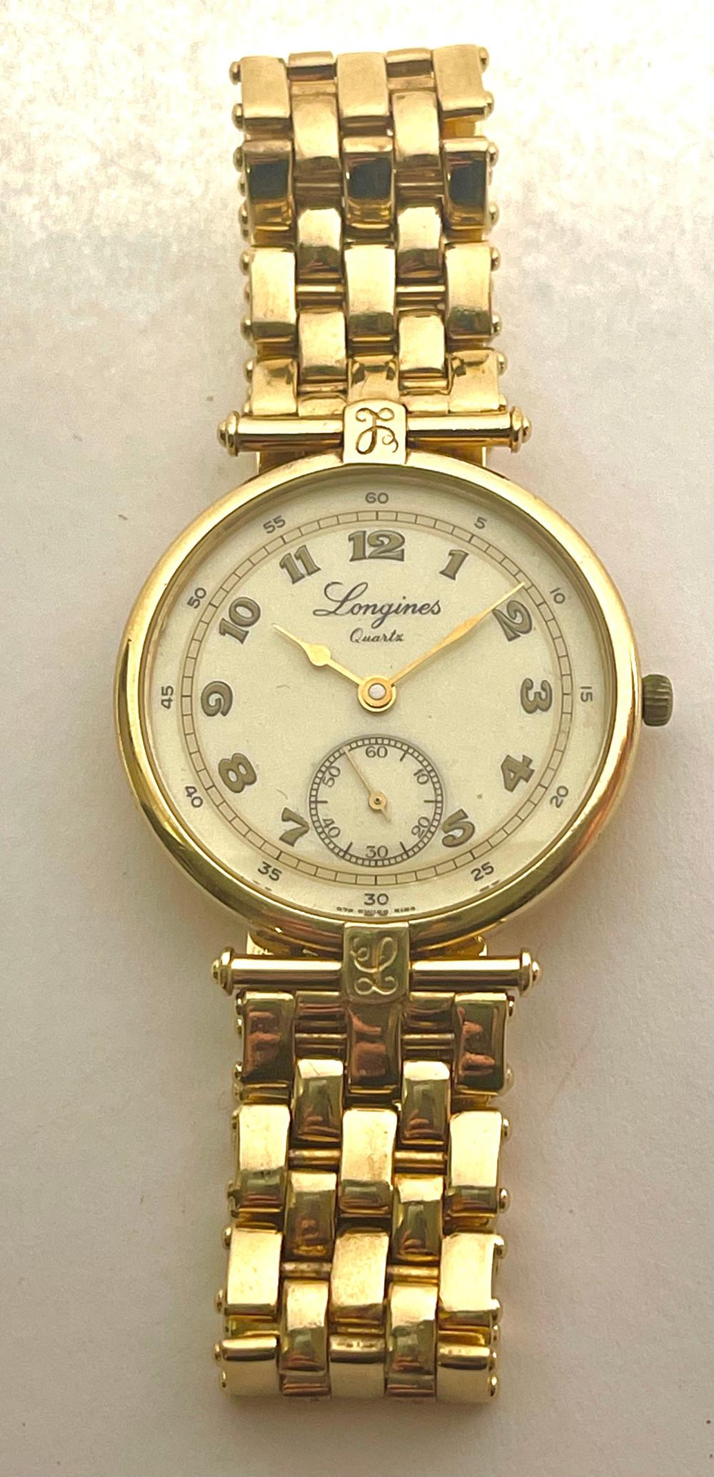 Longines Classics wristwatch circa 1980.