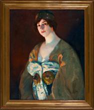Lluís Masriera Rosés Barcelona 1872 - 1958 A young woman