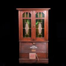 Antique German cabinet gramophone