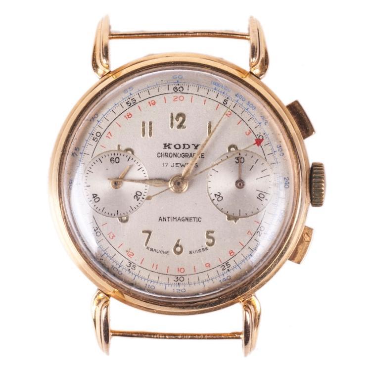 18K gold Kody chronograph wristwatch