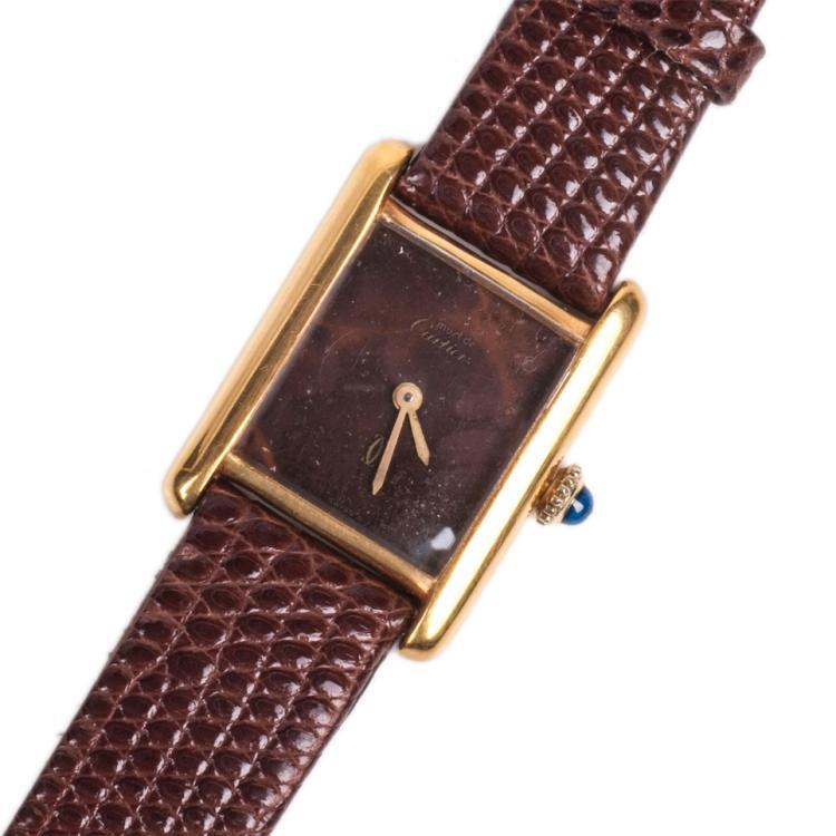 Cartier women's mechanical wristwatch