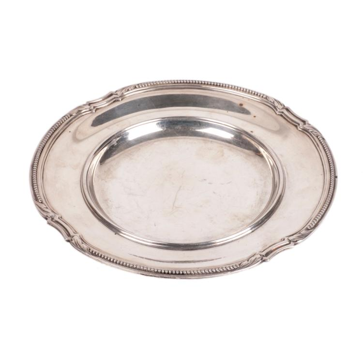 Antique French silver plate