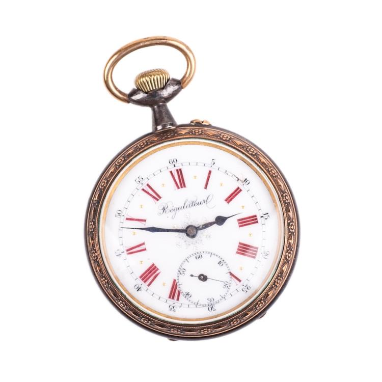 Metal pocket watch