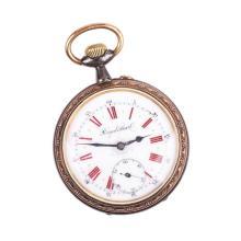 Metal pocket watch