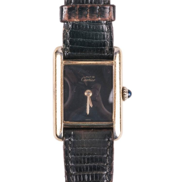Cartier women's mechanical wristwatch
