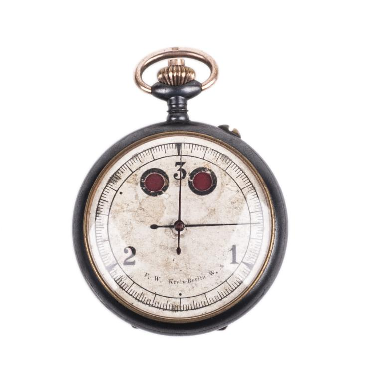 Rare military WWI Aviator's stopwatch for engine start