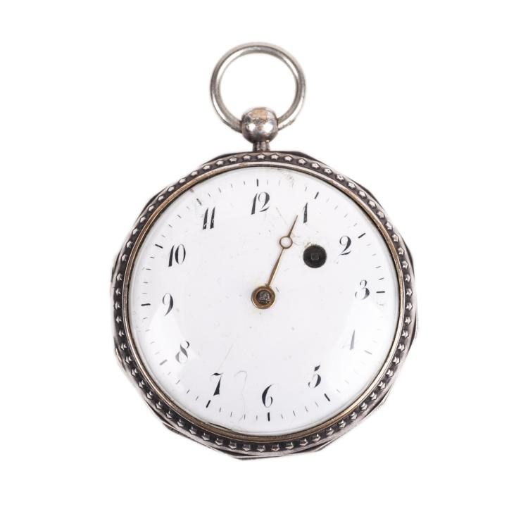 18th century English pocket watch