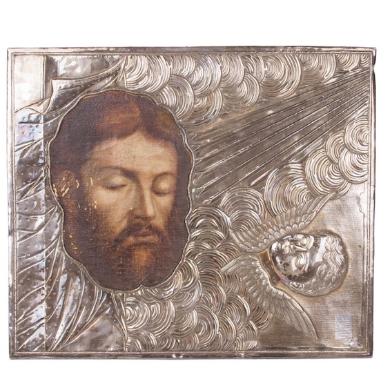 Unusual Russian Icon of Saint Ioann the Forerunner