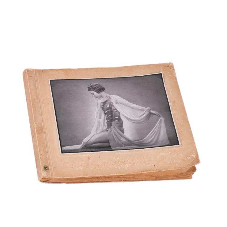 Ballet photo album with leading Dyagilev seasons dancers