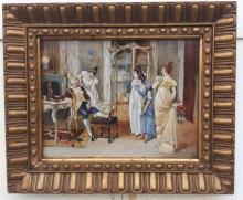 Louis XVI King of France, Funny scene.