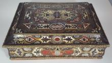 Cassette- casket with Boulle Marketerie.
