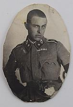Alfons Walde private photography Imperial-Royal Uniform