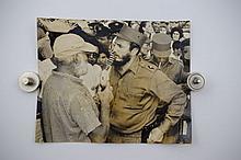 Alberto Korda, Ernest Hemingway and Fidel Castro