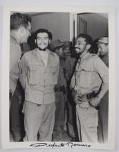 Che Guevara, Perfecto ROMERO hand signed