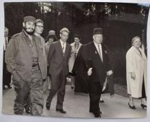 Alberto Korda, Nikita Chruschtschow, Fidel Castro