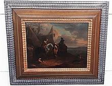 Pieter VAN BLOEMEN (1657-1720) Oil on wood panel.