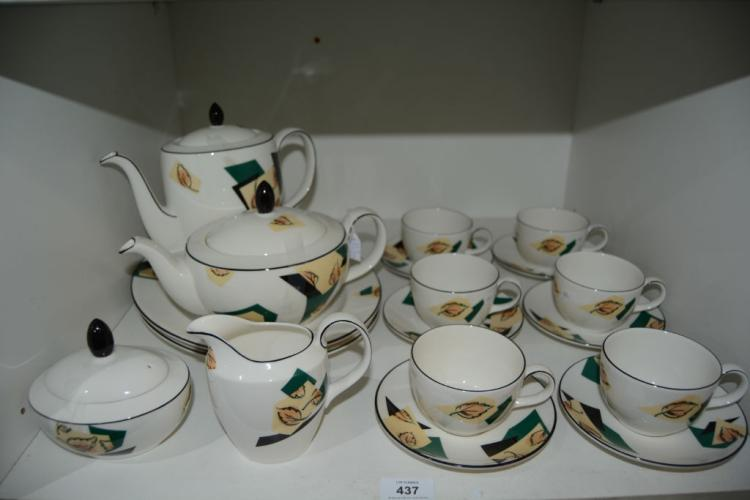 18 pieces of Doulton every day ware,