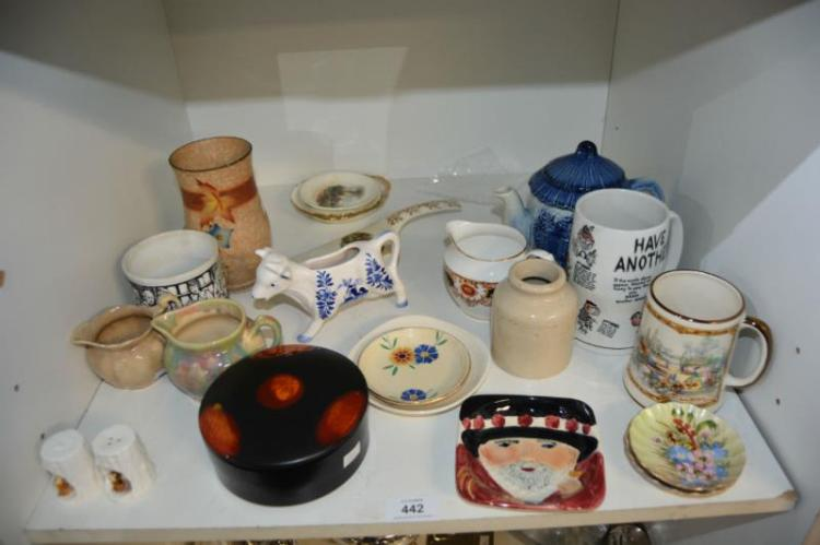 Collection of various porcelain ware incl.