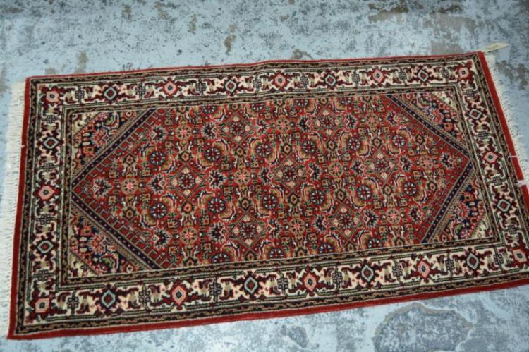 Persian Bidjar pure wool hand made rug,