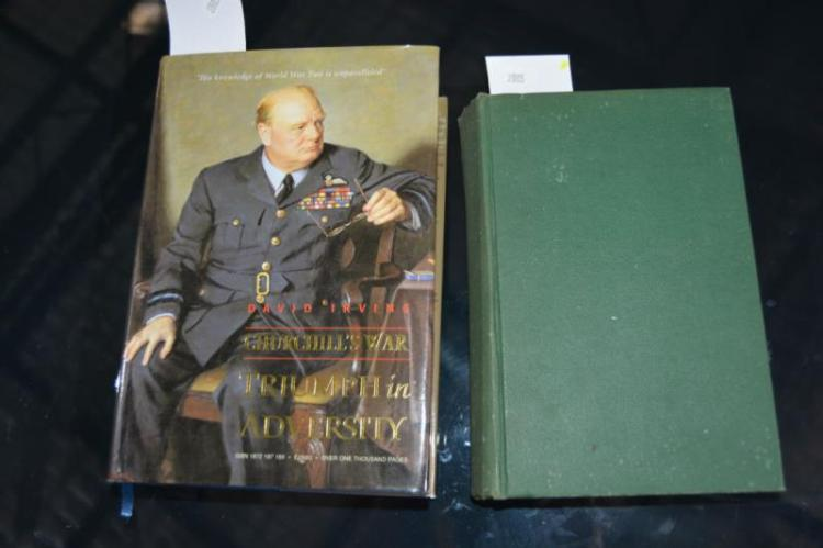 2 books: military related incl. 'Churchill's War'