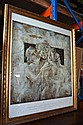 Large gilt framed classical print from the Phoenix