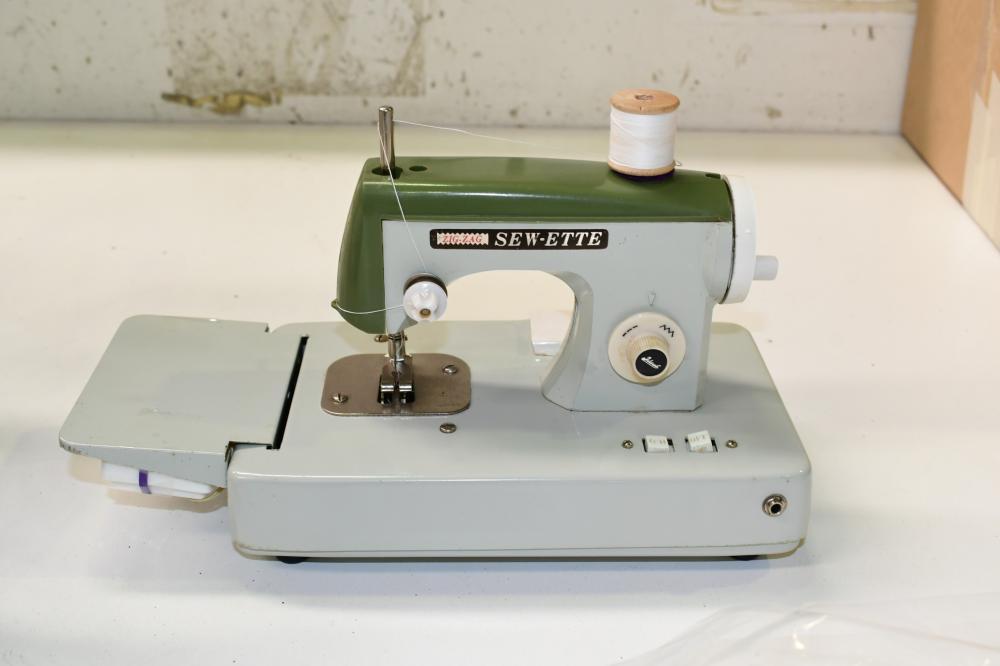 Vintage Zig Zag Sew-ette child's sewing machine toy