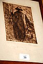 Alfons Blomme, engraving, signed & lim/ed, dated