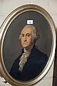 Antique hand coloured lithograph, 'George