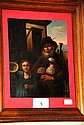 Antique oil painting on copper, believed to be a